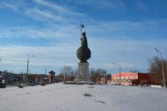 塞萨罗尼基的德米特里的纪念碑 免版税库存图片