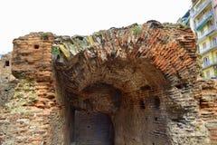 塞萨罗尼基罗马废墟 免版税库存照片