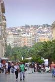 塞萨罗尼基风景视图希腊 免版税图库摄影