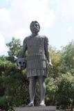 塞萨罗尼基,希腊- 2016年9月04日:Macedon的腓力二世国王雕象  库存照片