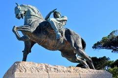 塞西尔・罗兹纪念碑-开普敦,南非 免版税库存图片