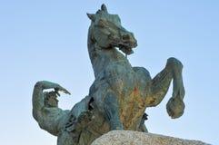 塞西尔・罗兹纪念碑-开普敦,南非 图库摄影