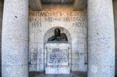 塞西尔・罗兹纪念碑-开普敦,南非 库存图片