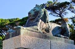 塞西尔・罗兹纪念碑-开普敦,南非 库存照片