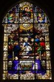 塞维利亚大教堂  库存照片