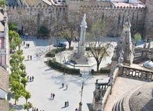 塞维利亚广场 免版税图库摄影