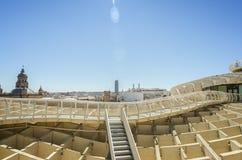 塞维利亚新的建筑学 库存照片