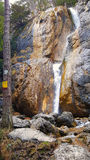 塞巴斯蒂安瀑布 免版税库存图片