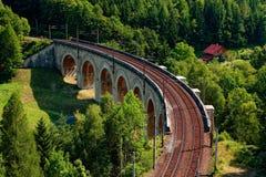 塞默灵Bahn高架桥 库存图片