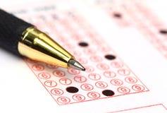 填装的登记表 免版税库存照片