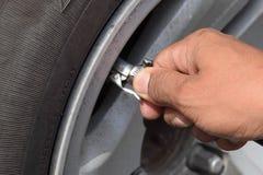 填装轮胎 免版税库存图片