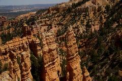 仙境峡谷俯视A 免版税库存照片