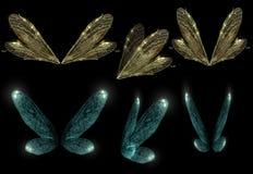 仙境翼 库存图片