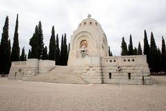 墓地军人一个塞尔维亚人战争世界 免版税库存图片