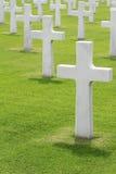 墓地军人 免版税库存照片
