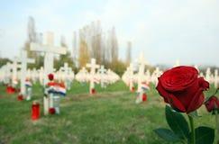 1787年墓地创建其lvov lychakiv军人乌克兰 免版税库存照片