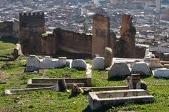 墓地摩洛哥穆斯林 库存照片
