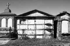 墓地新奥尔良 库存照片