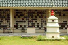 墓地汉语 免版税库存照片