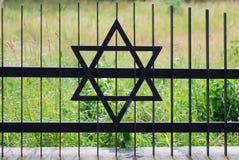 墓地犹太老 库存图片