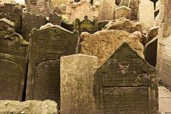 墓地犹太观点 库存图片