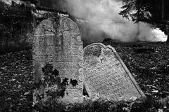 墓地犹太puclice 免版税库存图片