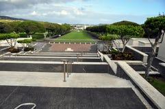 墓地纪念国家太平洋 免版税库存照片