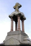 墓地纪念碑 库存照片