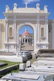 墓地胡安老圣 库存图片