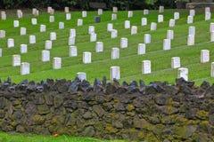 墓地退伍军人 免版税库存照片