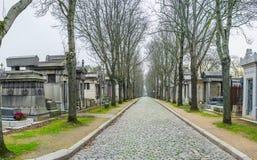 墓地lachaise p关于 库存照片