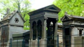 墓地montmartre巴黎 免版税库存图片