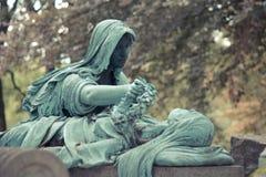 墓地Pere Lachaise 库存图片