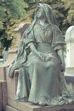 墓地Pere Lachaise 免版税库存照片