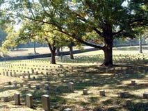 墓地shiloh 免版税库存图片