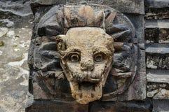 墓石在特奥蒂瓦坎 库存照片
