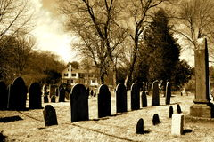 墓石 免版税图库摄影