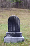 黑墓石 库存照片