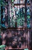 墓碑在犹太公墓 免版税库存图片