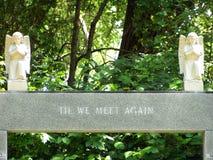 墓碑纪念品 库存照片