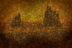 墙壁上的石头 免版税库存图片