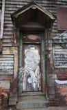 墙壁上的艺术在东部威廉斯堡在布鲁克林 免版税库存图片