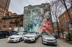 墙壁上的艺术费城-宾夕法尼亚 免版税库存图片