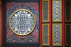 墙壁中国式 免版税库存照片