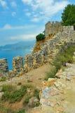墙壁和向陆堡垒 库存图片