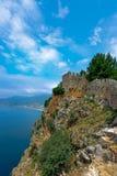 墙壁和向陆堡垒 免版税库存照片