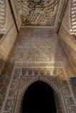 墙壁和阿尔罕布拉宫最高限额设计  免版税库存图片