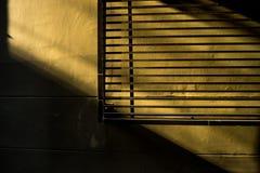 墙壁和阴影 库存照片