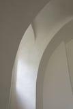 墙壁在教会里 图库摄影
