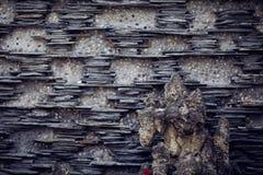 墙壁在温江,中国 库存图片